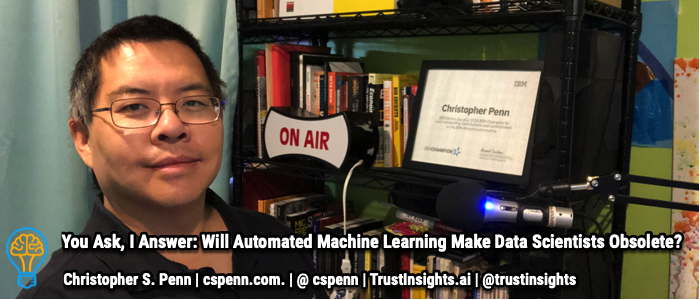 You Ask, I Answer: Will Automated Machine Learning Make Data Scientists Obsolete?