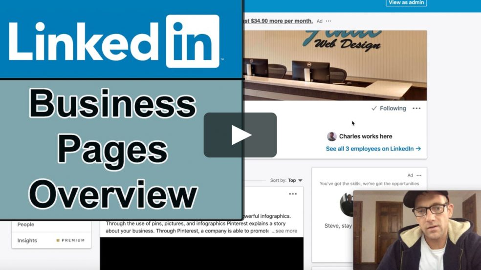 LinkedIn Business Pages Overview #SMM #Marketing @MondoPlayer [Video]