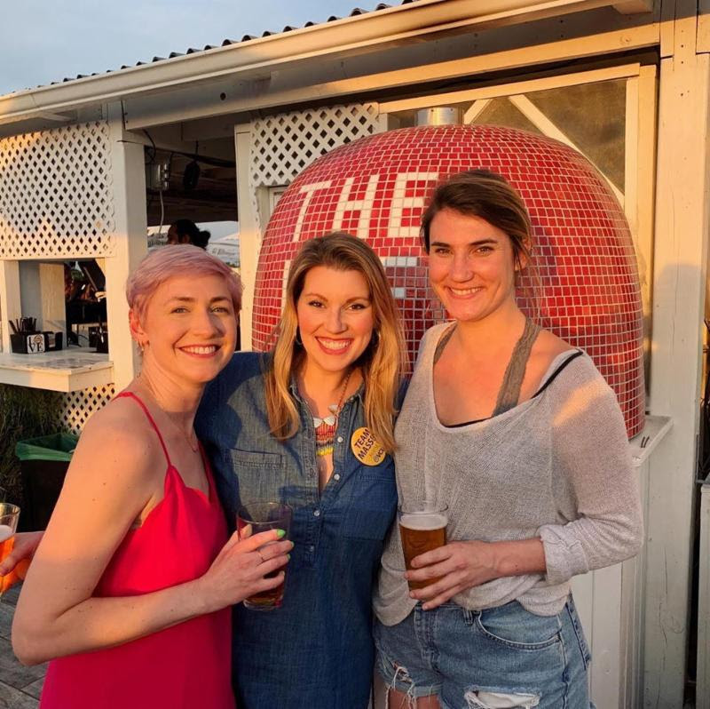M+M Team Drink Beer for a Good Cause