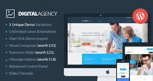 Digital Agency theme is perfect choice for marketing agency