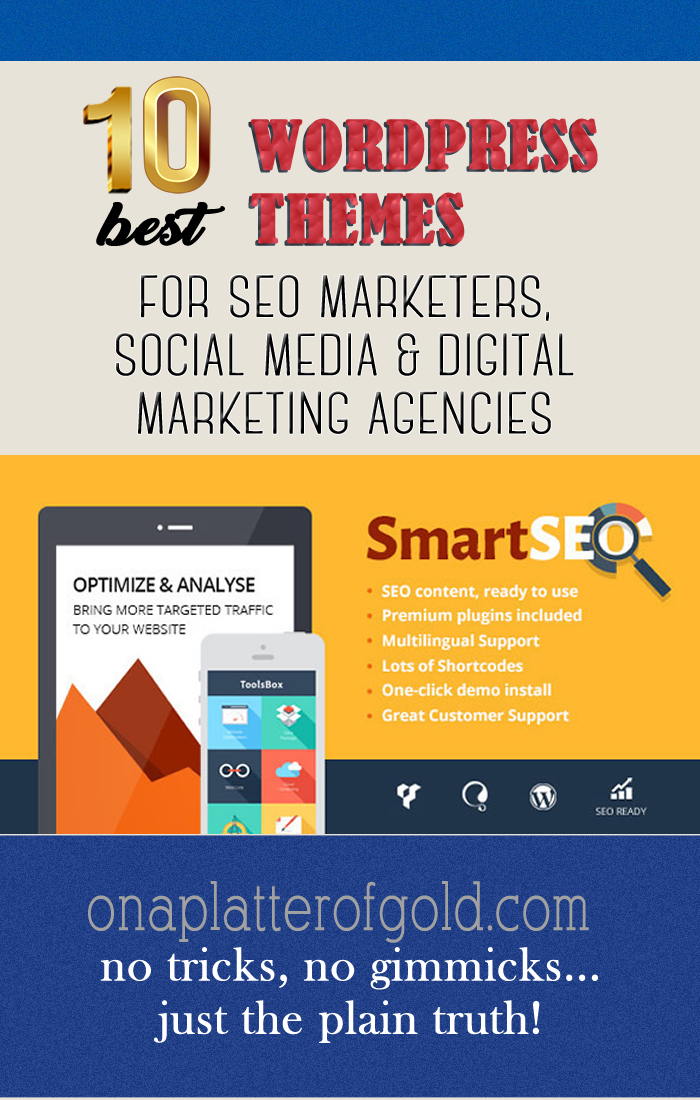 Best WordPress Themes For SEO Marketer, Social Media And Digital Marketing Agency