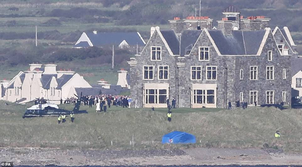 Mr Trump has owned the resort since 2014, in the tiny town of Doonbeg in County Clare on the west coast of Ireland