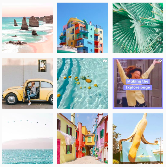 Later Feed Example: Instagram Aesthetic