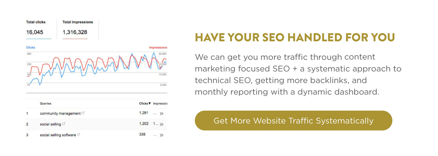 Have SEO Handled For You - SEO Outsourcing