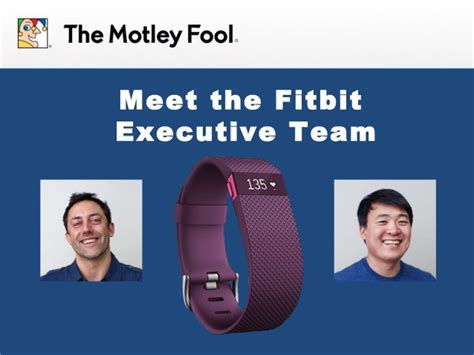 Meet The Fitbit Executive Team