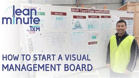 How To Start A Visual Management Board